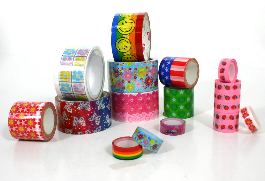 packaging tape with logo